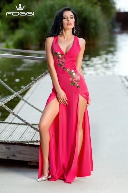 ROCHIE DAMA QUEEN NEW DRESS DIN COLECTIA FOGGI DARING