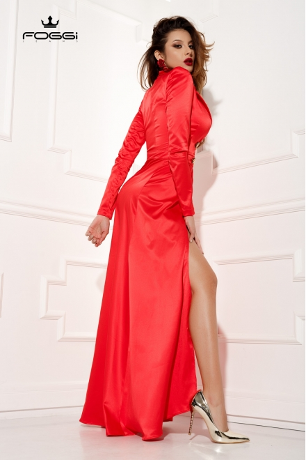 ROCHIE DAMA LAST KISS DRESS RED DIN COLECTIA FOGGI UNBREAKABLE