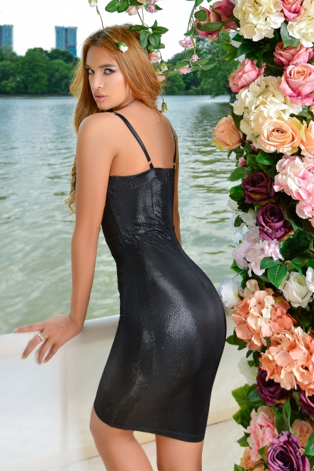 Rochie dama BLACK SWAN din colectia Foggi The One and Only