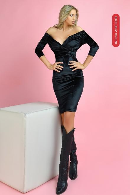 Rochie dama NO LIMITS BLACK din colectia Foggi Exclusiv Online