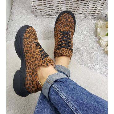 Pantofi casual din piele naturala Leo