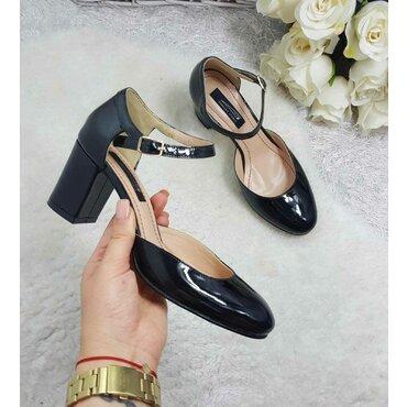 Pantofi dama lac negru Valeria