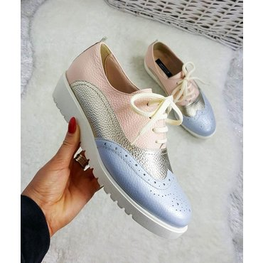 Pantofi de dama nud Young Oxford 6004