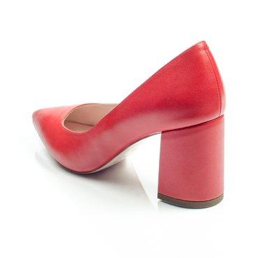 Pantofi de dama piele rosie Good