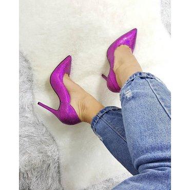 Pantofi eleganti fuxia Heaven