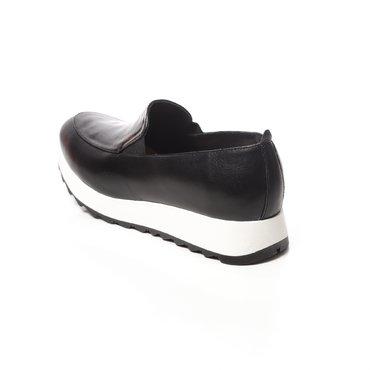 Pantofi negru mat cu negru stralucitor din piele naturala Klara