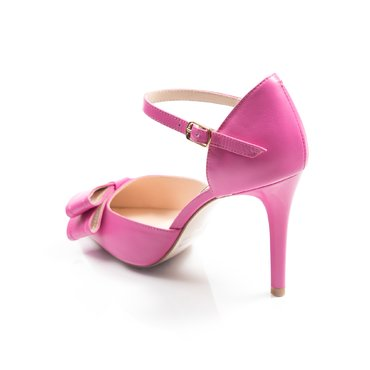 Pantofi piele fucsia Vera +fd gf1