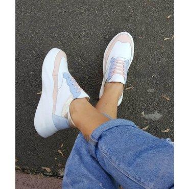 Pantofi sport din piele naturala Amira 6014
