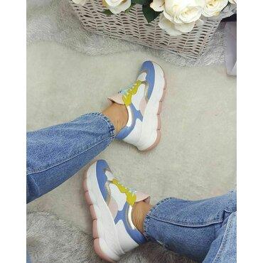 Pantofi sport din piele naturala Sky