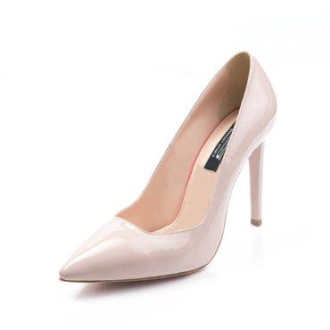 Pantofi Stiletto Trend Lac Nude 2017