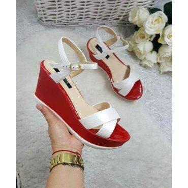 Sandale dama albe Dora