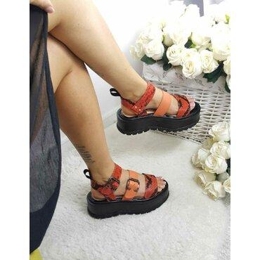 Sandale de dama corai Matrix