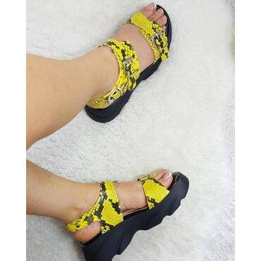 Sandale de dama galbene Alissa