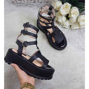 Sandale de dama negre Britney
