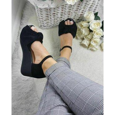 Sandale de dama negre Masha