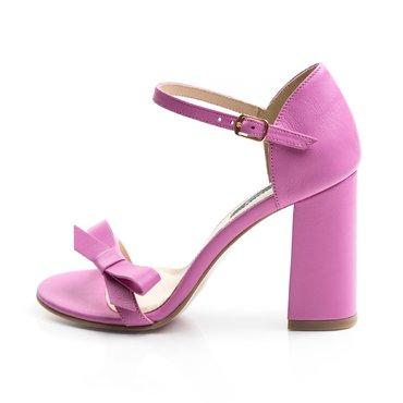 Sandale de dama piele ciclam Daniela