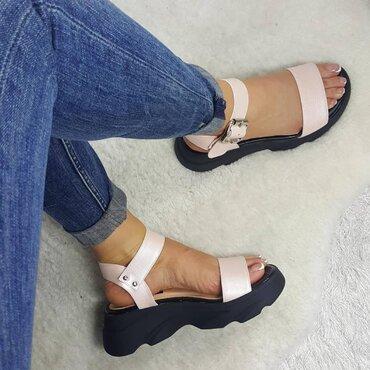 Sandale de dama roz Bonita