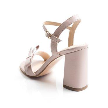 Sandale de dama Vera piele roz pal