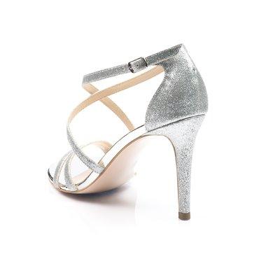 Sandale de ocazie glitter argintiu Atena