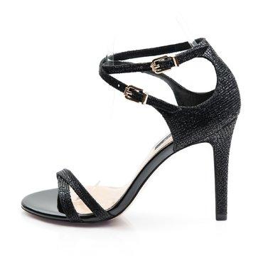 Sandale de ocazie Lora textil negru