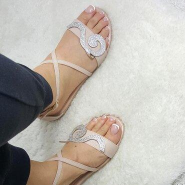 Sandale din piele naturala roz Best CS