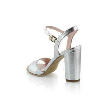 Sandale Laminat Argintiu Diva