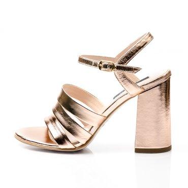Sandale piele aramie Ciao