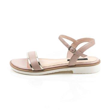 Sandale piele naturala bej Soft