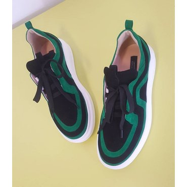 Sneakers din piele naturala Soli