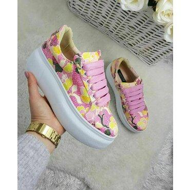 Sneakers imprimeu roz Roxy