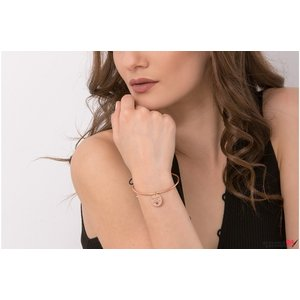Bratara CHARM BANGLE SNUR 16.5mm TEXT