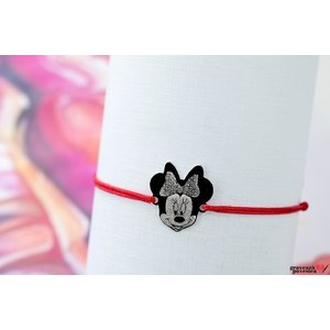 Bratara MINNIE 16mm TEXT