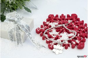 Bratara CHARMS SNOWFLAKE 20mm TEXT