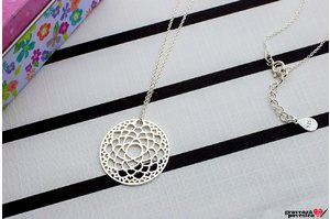 Colier FLOWER OF LIFE 25mm