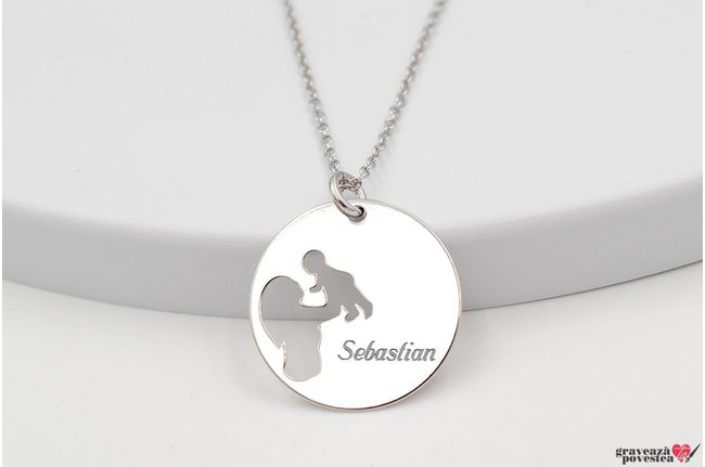 Colier MOMMY'S BABY19mm TEXT