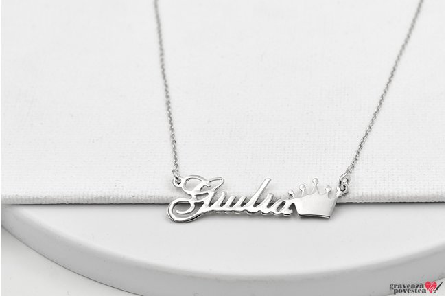 Colier NUME - YOUR NAME TEXT + SIMBOL