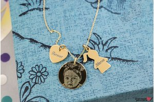 Colier YOUR DUCHESS PURE GOLD 14K BOY/GIRL FOTO