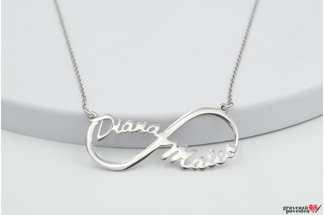 Colier MY INFINITY NAME 38mm