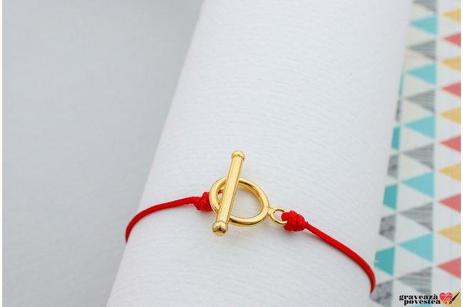 Inchizatoare SUPLIMENT EASY LOCK MAXI placata cu aur (pentru snur gros)