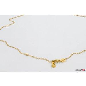 Lant SUPLIMENT placat cu aur (45/ 48cm)