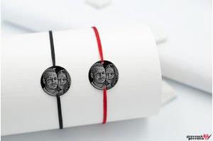 NOI DOI Set 2 bratari - COIN 16.5mm FOTO