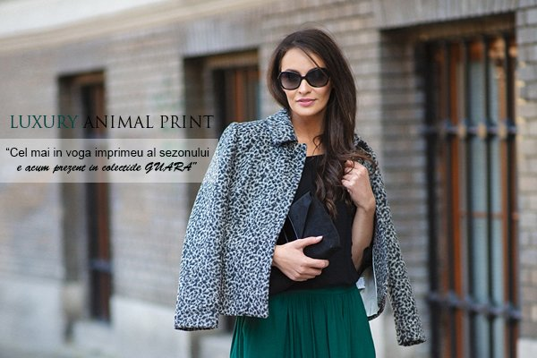 Colectia Luxury Animal Print