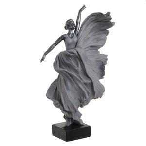 Adelyn Statueta Balerina, Polirasina, Gri
