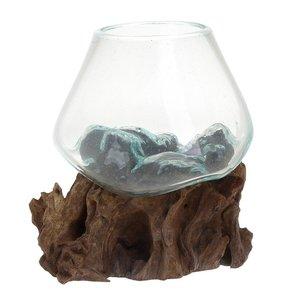 Aquar Vaza, Sticla, Bej