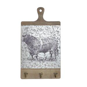 Ashlea Cuier vaca, MDF, Gri