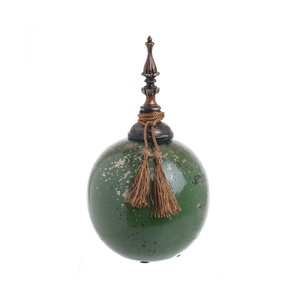 Asle Vas decorativ, Ceramica, Verde