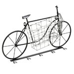 Bikes Suport sticle bicicleta, Metal, Negru
