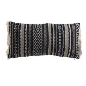 Blan Perna decorativa, Textil, Negru