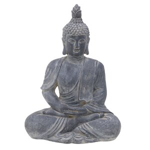 Budac Statueta, Polirasina, Gri