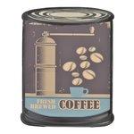 Coffe Decoratiune perete, Metal, Multicolor